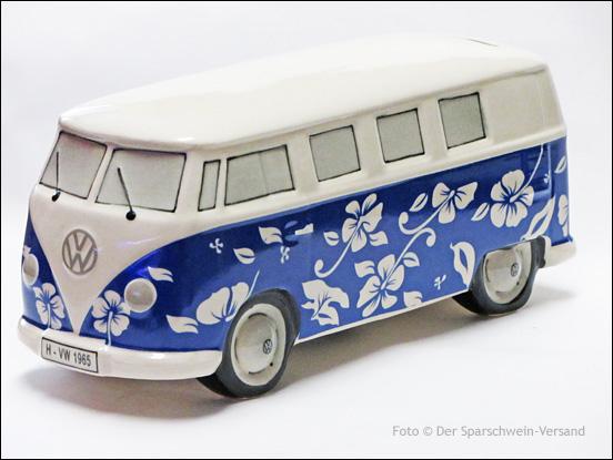 gro e spardose vw bulli t1 vw bus t 1 keramik uni hippie. Black Bedroom Furniture Sets. Home Design Ideas
