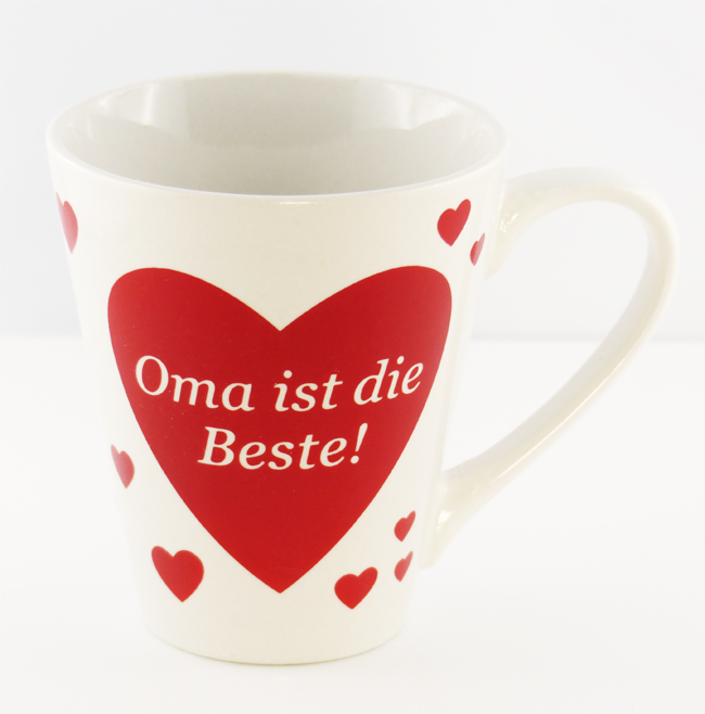 herz tasse beste mama papa oma opa der welt kaffeebecher becher kaffeetasse ebay. Black Bedroom Furniture Sets. Home Design Ideas